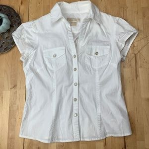 Michael Michael Kors button up Short sleeve top